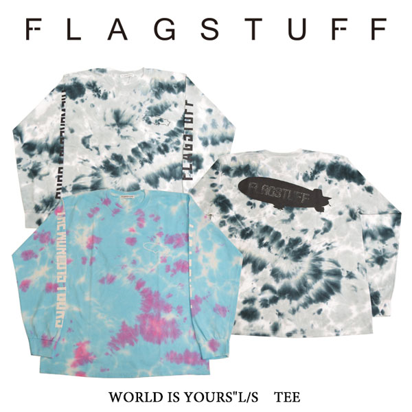 "【SALE40%OFF】 F-LAGSTUF-F(フラグスタフ) WORLD IS YOURS""L/S TEE 【2017 SPRING&SUMMER COLLECTION】 【F-LAGSTUF-F】 【フ"
