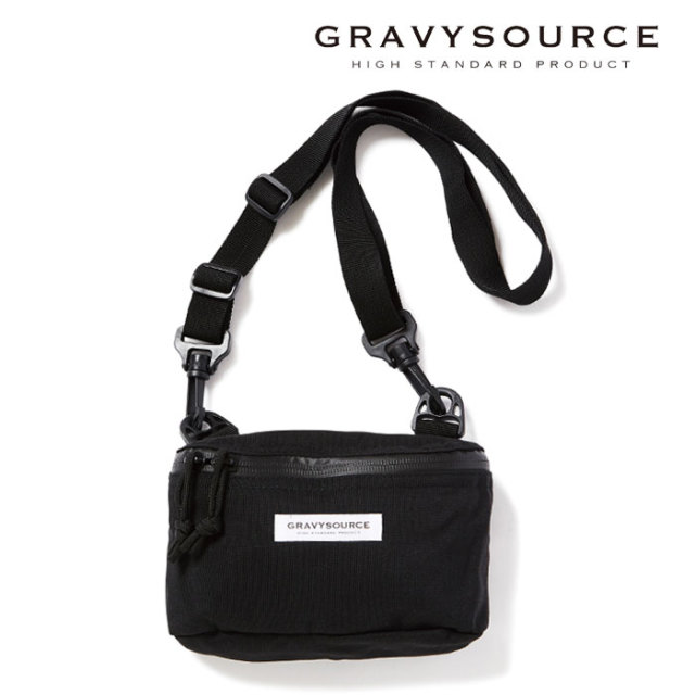 GRAVYSOURCE(グレイヴィーソース) SHOULDER POUCH 【2019HOLIODAY/SPRING新作】 【ショルダーポーチ】【GS19-HAC10】