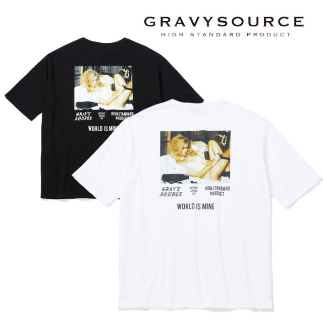 【SALE30%OFF】 GRAVYSOURCE(グレイヴィーソース) CHICKS BIG TEE 【2019HOLIODAY/SPRING新作】【セール】 【Tシャツ】【GS19-HT