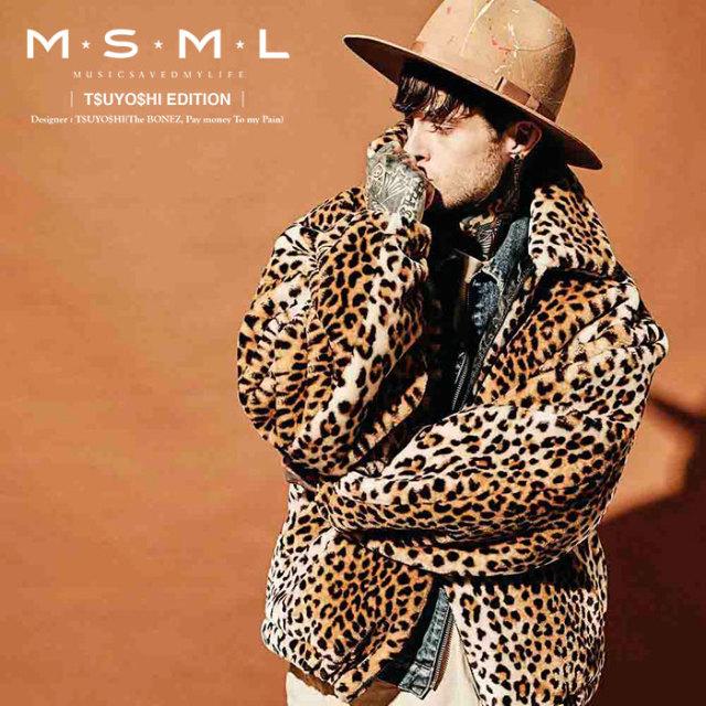 MSML(MUSIC SAVED MY LIFE) OVERSIZED FAKE FUR JACKET 【2019AUTUMN&WINTER先行予約】 【キャンセル不可】【M101-01K5-JK02】