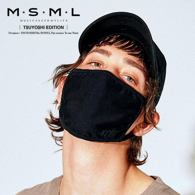 MSML(MUSIC SAVED MY LIFE) MASK 【2019AUTUMN&WINTER先行予約】 【キャンセル不可】【M1A1-01K5-GD02】 【MSML(MUSIC SAVED MY