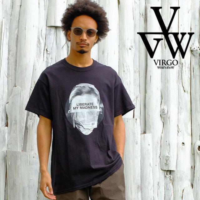 VIRGO ヴァルゴ バルゴ 「MADNESS」 【Tシャツ 半袖】【VG-SSPT-235】【2021SPRING&SUMMER先行予約】【キャンセル不可】【VIRGOwea