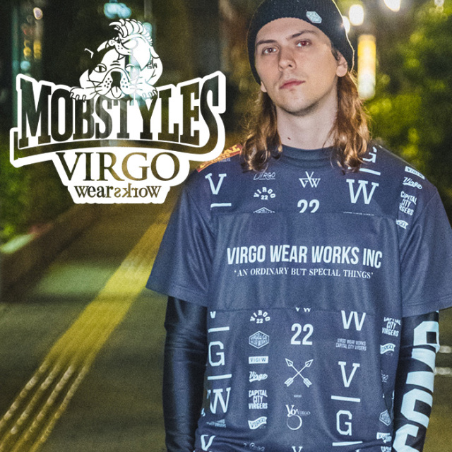 VIRGOwearworks×BOUNTY HUNTER/MOBSTYLES  MOB×VGW AMAZE MOSH DRY TEE 【Tシャツ】【VG-CB-102】【MOBSTYLES】【コラボレーション