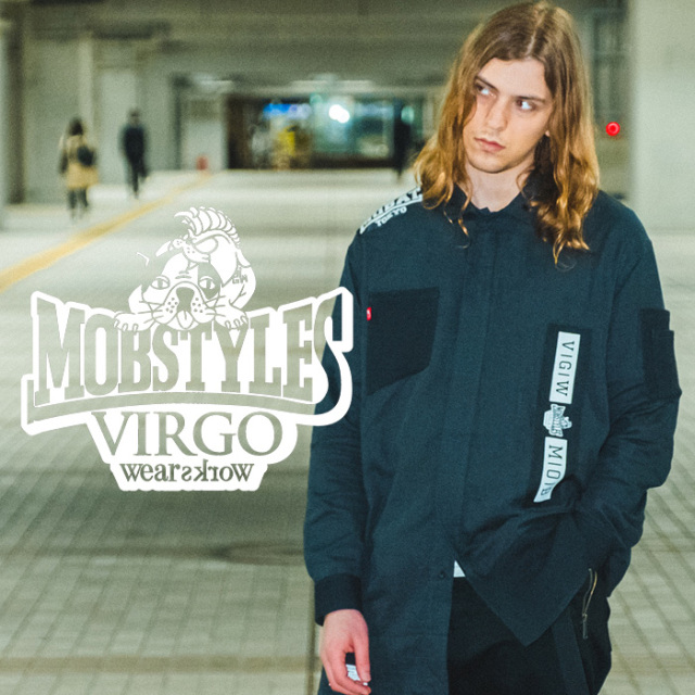 VIRGOwearworks×BOUNTY HUNTER/MOBSTYLES  MOB×VGW DOUGI LONG SHIRTS 【シャツ 長袖】【VG-CB-104】【MOBSTYLES】【2020SS SPOT先