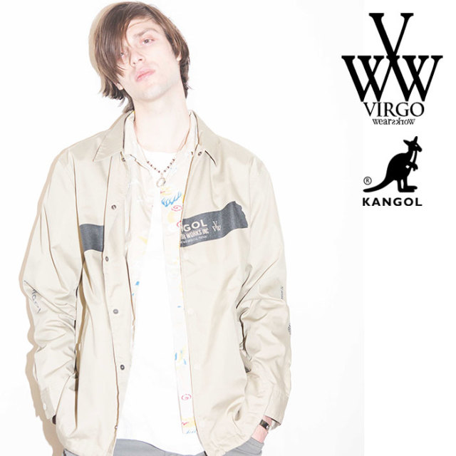 VIRGO ヴァルゴ バルゴ KANGOL×VIRGOwearworks TAPE COACH JKT 【2019 SUMMER&EARLY FALL先行予約】 【VG-CB-82】【キャンセル不
