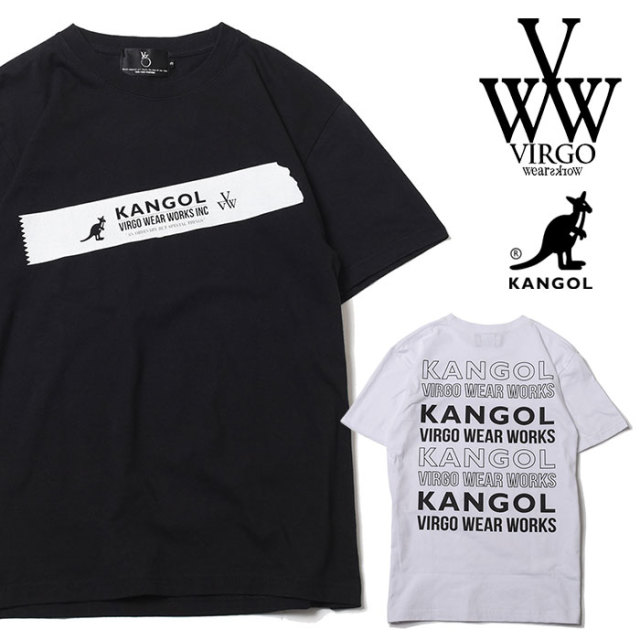 VIRGO ヴァルゴ バルゴ KANGOL×VIRGOwearworks BIG TAPE S/S 【2019 SUMMER&EARLY FALL先行予約】 【VG-CB-84】【キャンセル不可