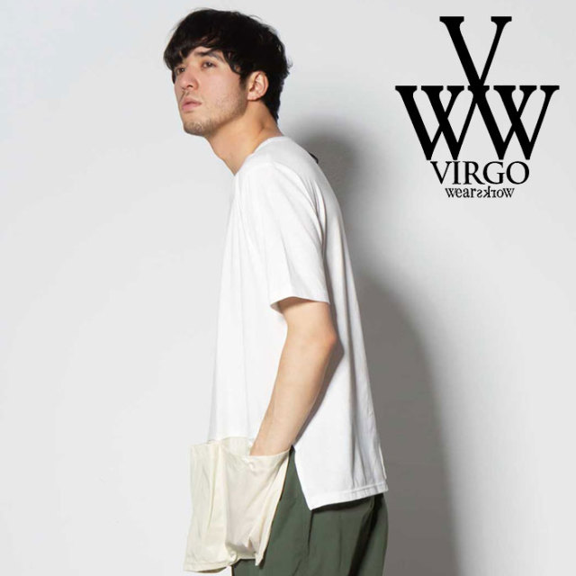 VIRGO ヴァルゴ バルゴ BANDARIA FOOTSTAMP 【2019 SUMMER&EARLY FALL先行予約】 【VG-CUT-386】【キャンセル不可】【Tシャツ】