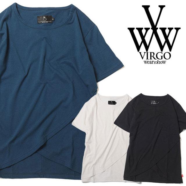 VIRGO ヴァルゴ バルゴ PASSIVE WAY 【2019 SUMMER&EARLY FALL先行予約】 【VG-CUT-387】【キャンセル不可】【Tシャツ】