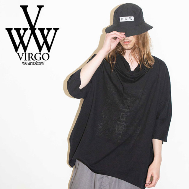 VIRGO ヴァルゴ バルゴ HIDDEN VG PONCHO 【2019 SUMMER&EARLY FALL新作】 【VG-CUT-390】【ポンチョ】