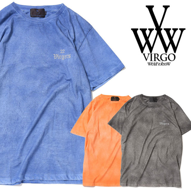 VIRGO ヴァルゴ バルゴ SPLASH SPRAY TEE 【2019 SUMMER&EARLY FALL先行予約】 【VG-CUT-389】【キャンセル不可】【Tシャツ】