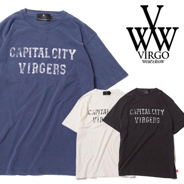 VIRGO ヴァルゴ バルゴ CC DYED TEE 【2019 SUMMER&EARLY FALL先行予約】 【VG-CUT-394】【キャンセル不可】【Tシャツ】
