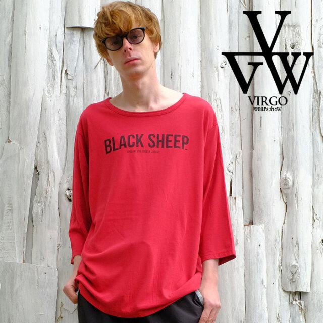 VIRGO ヴァルゴ バルゴ Perfection 21 (3/4) 「B.S」 【カットソー】【VG-CUT-421】【2021SPRING&SUMMER先行予約】【キャンセル不