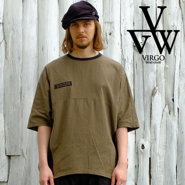 VIRGO ヴァルゴ バルゴ  Dolman miry 2face 【ドルマンカットソー】【VG-CUT-425】【2021SPRING&SUMMER新作】【VIRGOwearworks ヴ