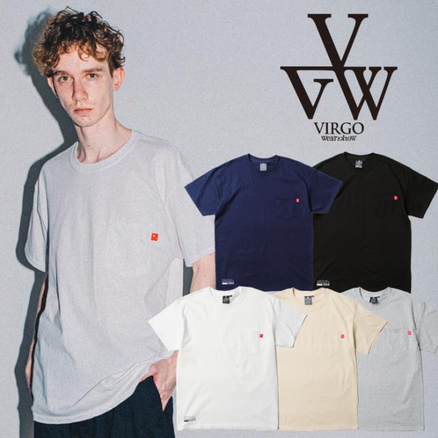 VIRGO ヴァルゴ バルゴ  MATURE PKT T 【ポケットTシャツ 半袖】【VG-CUT-433】【2021SPRING&SUMMER新作】【VIRGOwearworks ヴァル