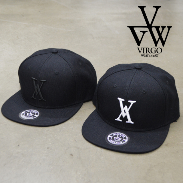 VIRGO ヴァルゴ バルゴ VG LOGO CAP 【ロゴキャップ 帽子】【VG-GD-371】【VIRGOwearworks】【ヴァルゴウエアワークス】