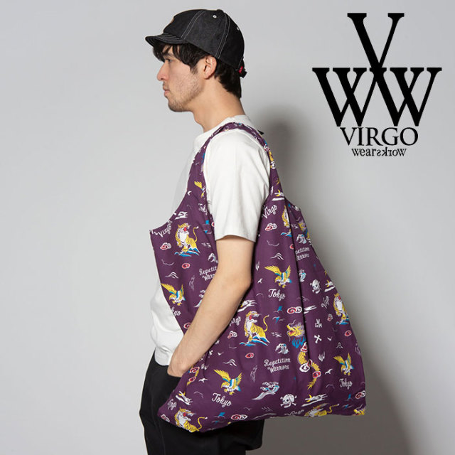 VIRGO ヴァルゴ バルゴ VGW【TOY BOX】BAG 【2019 SUMMER&EARLY FALL新作】 【VG-GD-589】【アロハ柄】【バッグ】