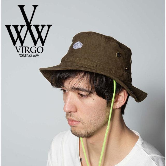 VIRGO ヴァルゴ バルゴ DIAMOND SAFARI HAT 【2019 SUMMER&EARLY FALL先行予約】 【VG-GD-595】【キャンセル不可】【ハット】