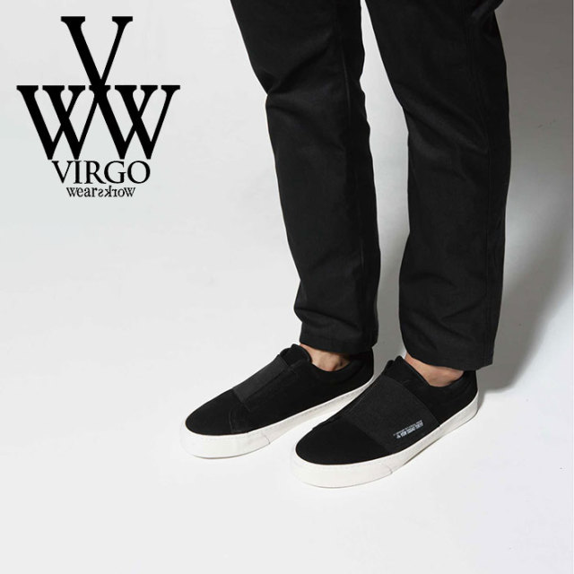 VIRGO ヴァルゴ バルゴ WIND BELT RUBBER LOGO SNEAKER 【2019 SUMMER&EARLY FALL先行予約】 【VG-GD-596】【キャンセル不可】【
