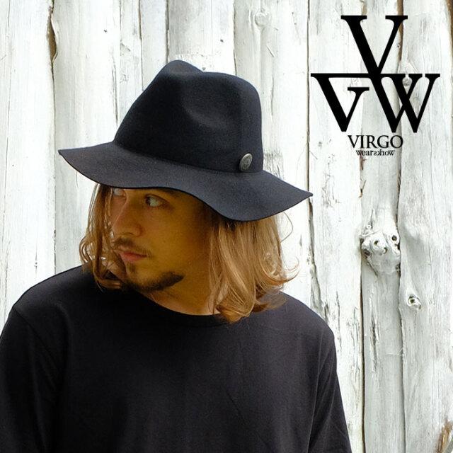 VIRGO ヴァルゴ バルゴ Nomads Hat 【ハット ウール】【VG-GD-662】【2021SPRING&SUMMER新作】【VIRGOwearworks】