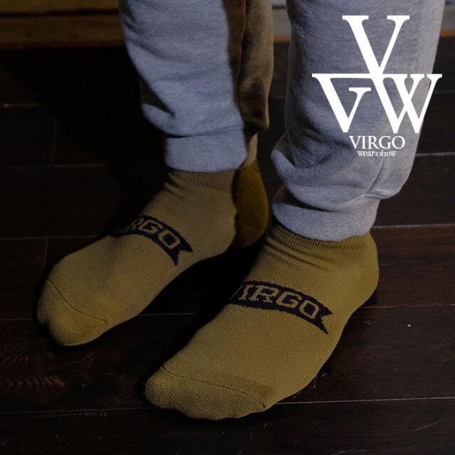 VIRGO ヴァルゴ バルゴ FLAG LOGO SOCKS 【ロゴ ソックス】【VG-GD-666】【2021SPRING&SUMMER先行予約】【キャンセル不可】【VIRGO