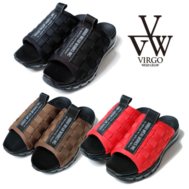 VIRGO ヴァルゴ バルゴ VIRTALIA BRAID KICKS 【サンダル】【VG-GD-672】【2021SPRING&SUMMER新作】【VIRGOwearworks】