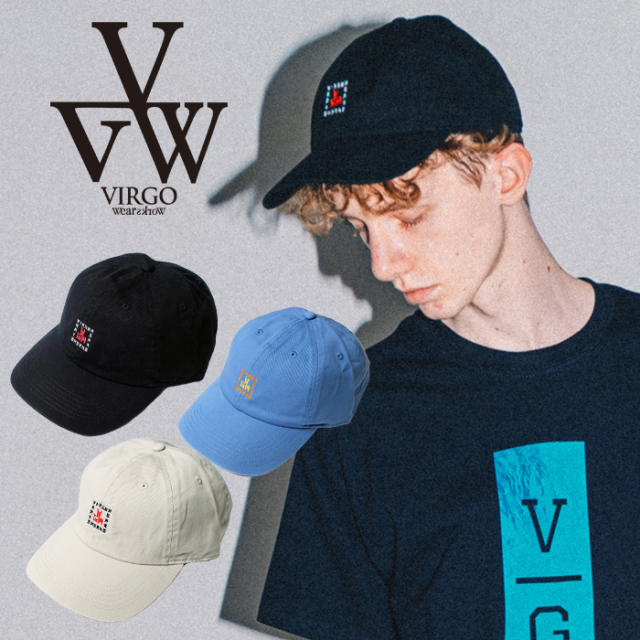 VIRGO ヴァルゴ バルゴ  BOX KANJI LOGO CAP 【キャップ 帽子】【VG-GD-674】【2021SPRING&SUMMERSPOT新作】【VIRGOwearworks ヴァ