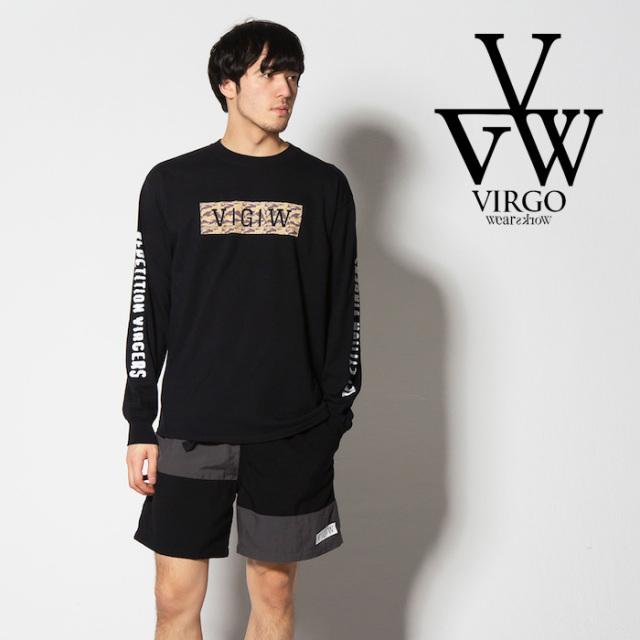 VIRGO ヴァルゴ バルゴ TIGERSAND VGW L/S 【2019 SUMMER&EARLY FALL先行予約】 【VG-LSPT-59】【キャンセル不可】【ロングスリー