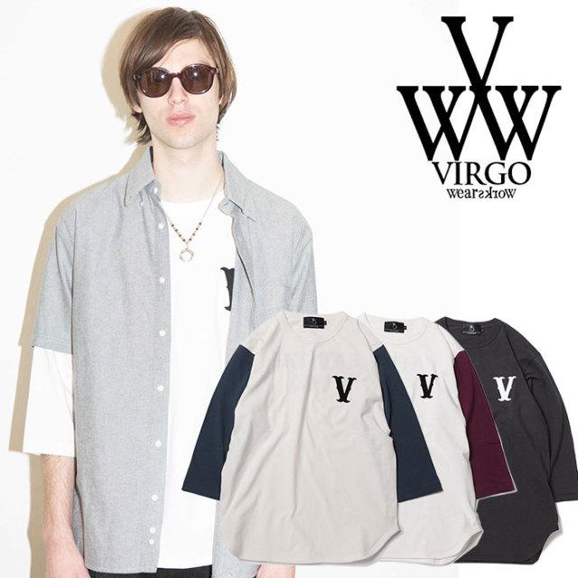 VIRGO ヴァルゴ バルゴ PLAYER V BASEBALL 【2019 SUMMER&EARLY FALL新作】 【VG-LSPT-60】【7分丈Tシャツ】