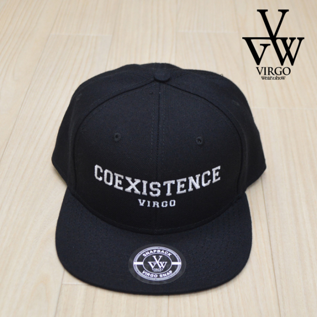 VIRGO ヴァルゴ バルゴ COEXISTENCE CAP  【2019 SUMMER&EARLY FALL新作】 【VG-PL-202】【キャップ 帽子】