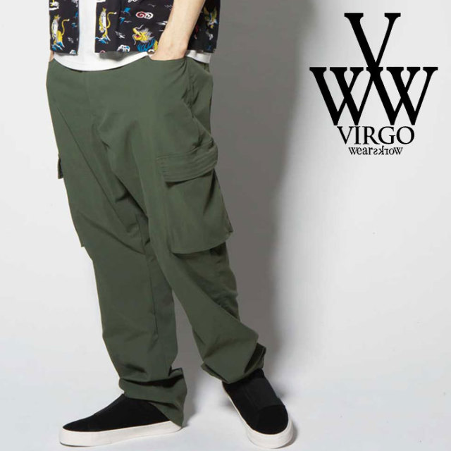 VIRGO ヴァルゴ バルゴ LIGHT EASY CARGO PT 【2019 SUMMER&EARLY FALL新作】 【VG-PT-220】【カーゴパンツ】