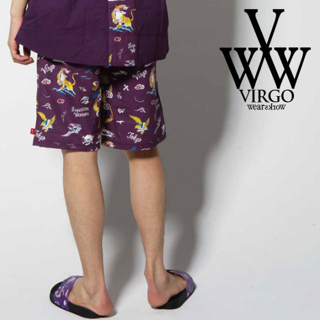 【SALE30%OFF】 VIRGO ヴァルゴ バルゴ VGW【TOY BOX】SHORTS 【2019 SUMMER&EARLY FALL新作】【送料無料】 【VG-PT-221】【ショ