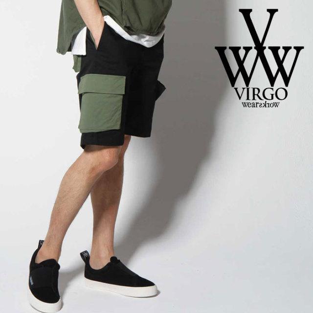 VIRGO ヴァルゴ バルゴ PANEL CARGO SHORTS 【2019 SUMMER&EARLY FALL先行予約】 【VG-PT-222】【キャンセル不可】【ショートパン