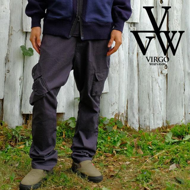 VIRGO ヴァルゴ バルゴ BAGGY-D CARGO 21 [CLASSIC LINE] 【カーゴパンツ】【VG-PT-341】【2021SPRING&SUMMER新作】【VIRGOwearwor