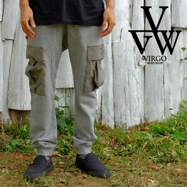 VIRGO ヴァルゴ バルゴ VGW sweat jogger cargo 【スウェットパンツ ジョガー カーゴ】【VG-PT-345】【2021SPRING&SUMMER新作】【V