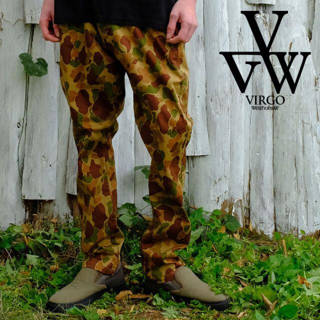 VIRGO ヴァルゴ バルゴ NINJAS CAMO 【パンツ】【VG-PT-347】【2021SPRING&SUMMER新作】【VIRGOwearworks】