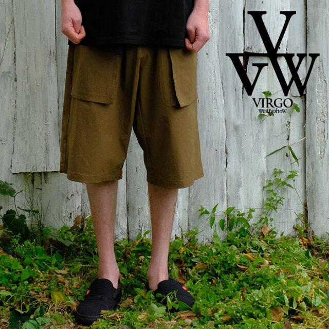 VIRGO ヴァルゴ バルゴ EDO the move shorts 【ショートパンツ  短パン】【VG-PT-350】【2021SPRING&SUMMER先行予約】【キャンセル