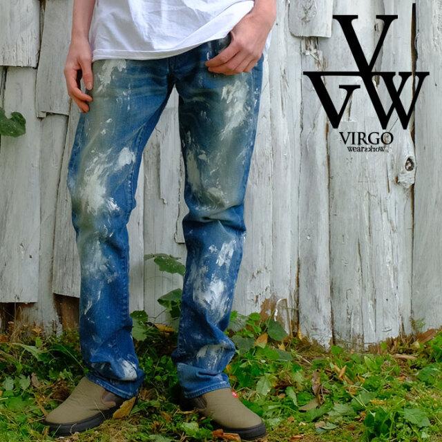 VIRGO ヴァルゴ バルゴ 「Basquiat」 【デニムパンツ】【VG-PT-355】【2021SPRING&SUMMER先行予約】【キャンセル不可】【VIRGOwear