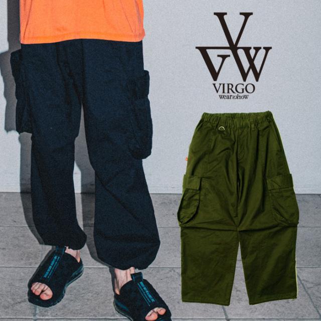 VIRGO ヴァルゴ バルゴ FAT & PKT CARGO PANTS 【カーゴパンツ】【VG-PT-357】【2021SPRING&SUMMER先行予約】【キャンセル不可】【