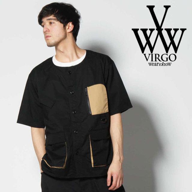 VIRGO ヴァルゴ バルゴ MILITARY PKT SHIRTS 【2019 SUMMER&EARLY FALL先行予約】 【VG-SH-203】【キャンセル不可】【シャツ】