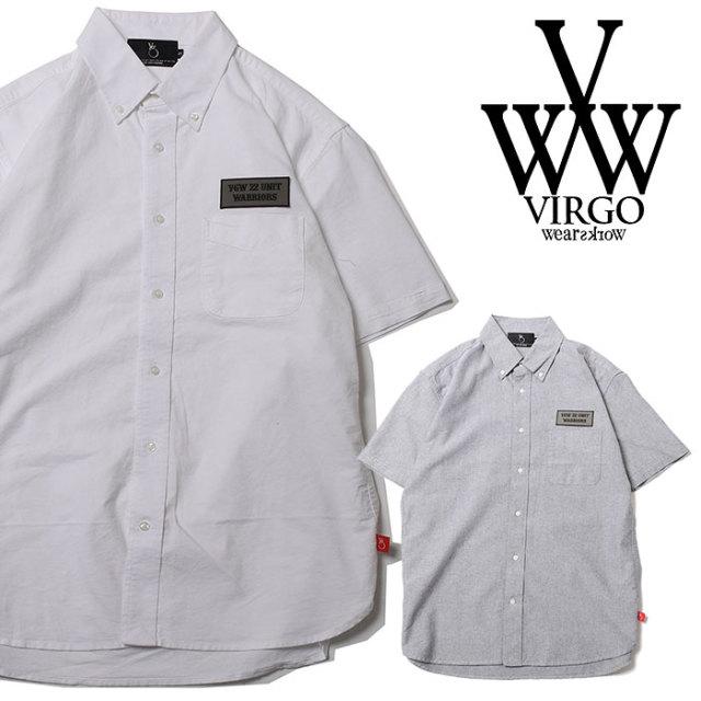 VIRGO ヴァルゴ バルゴ BD MILY WORK SHIRTS 【2019 SUMMER&EARLY FALL先行予約】 【VG-SH-204】【キャンセル不可】【シャツ】
