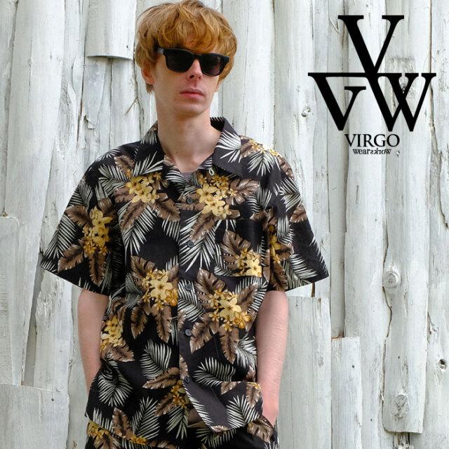 VIRGO ヴァルゴ バルゴ VGW Aloha Shirts 【アロハシャツ 半袖】【VG-SH-230】【2021SPRING&SUMMER先行予約】【キャンセル不可】【