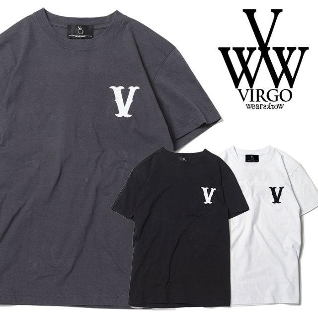 VIRGO ヴァルゴ バルゴ SAND LOGO SS【VALIANT】 【2019 SUMMER&EARLY FALL先行予約】 【VG-SSPT-212】【キャンセル不可】【Tシャ