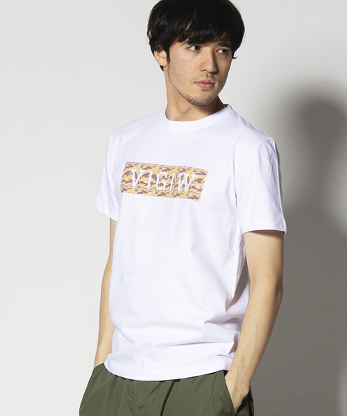 VIRGO ヴァルゴ バルゴ SAND LOGO SS【VALIANT】 【2019 SUMMER&EARLY FALL新作】 【VG-SSPT-212】【Tシャツ】