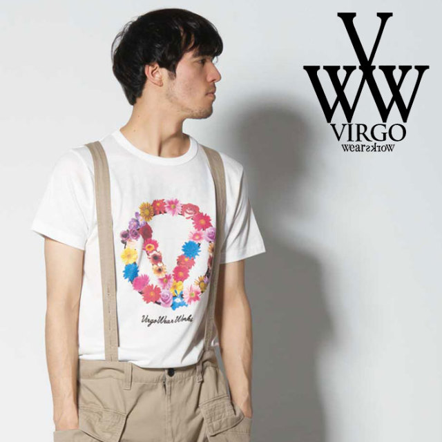 VIRGO ヴァルゴ バルゴ VGW GARLAND【TENDER】 【2019 SUMMER&EARLY FALL先行予約】 【VG-SSPT-220】【キャンセル不可】【Tシャツ