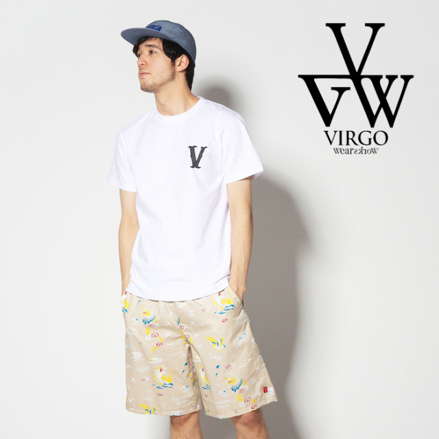 VIRGO ヴァルゴ バルゴ PLAYER V【VALIANT】 【2019 SUMMER&EARLY FALL新作】 【VG-SSPT-221】【Tシャツ】