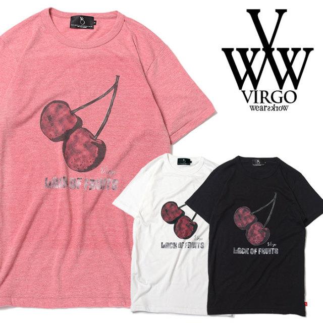 VIRGO ヴァルゴ バルゴ LESS CHERRY【TENDER】 【2019 SUMMER&EARLY FALL先行予約】 【VG-SSPT-222】【キャンセル不可】【Tシャツ