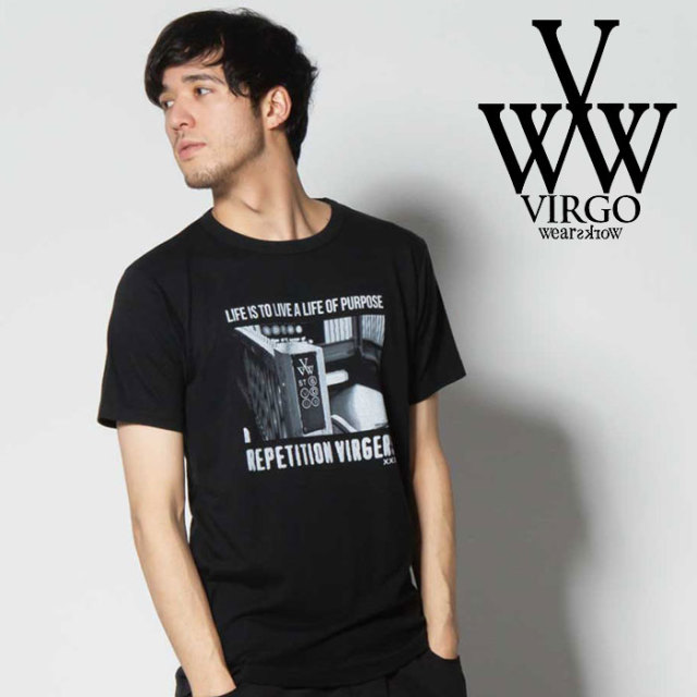 VIRGO ヴァルゴ バルゴ SUBWAY【TENDER】 【2019 SUMMER&EARLY FALL新作】 【VG-SSPT-225】【Tシャツ】