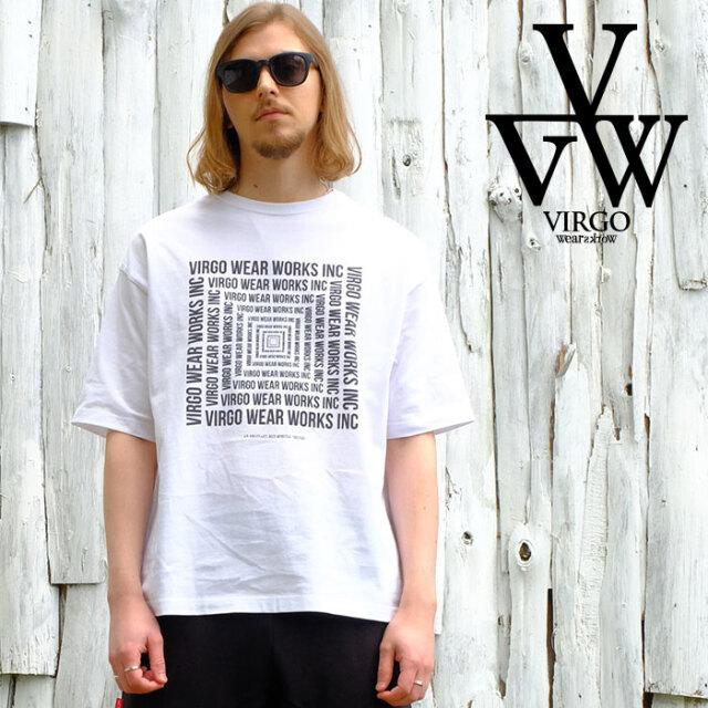 VIRGO ヴァルゴ バルゴ 「Big maze」 【Tシャツ 半袖】【VG-SSPT-233】【2021SPRING&SUMMER先行予約】【キャンセル不可】【VIRGOwe