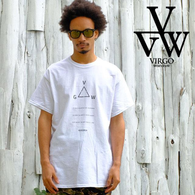 VIRGO ヴァルゴ バルゴ TRIANGLE 【Tシャツ 半袖】【VG-SSPT-235】【2021SPRING&SUMMER先行予約】【キャンセル不可】【VIRGOwearwo