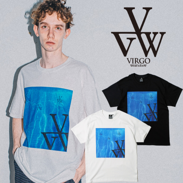 VIRGO ヴァルゴ バルゴ MICROCOSM 【Tシャツ 半袖 ドライT】【VG-SSPT-242】【2021SPRING&SUMMER先行予約】【キャンセル不可】【VI